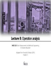 Lecture 8 - Operation analysis.pdf