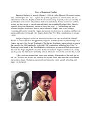 Story of Langston Hughes.docx