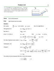 fluid dynamics equation sheet. 10 pages me 367 hw 3 solutions fluid dynamics equation sheet
