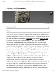 Chinese Buddhist Sculpture _ Essay _ Heilbrunn Timeline of Art History _ The Metropolitan Museum of