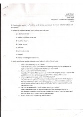 9 - Assignment 3 Criteria and Limitations