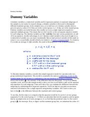 Dummy Variables.docx