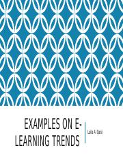 Examples of E-Learning Trends.pptx