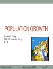 26 Population Growth after class update