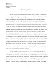 English II Essay #1.docx