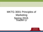 Chapter 1, 2 - General Marketing Issues