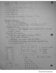 Chapter 2 - Basic Economics Relations