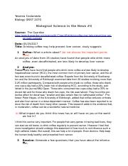 Biological Science in the News #4.docx