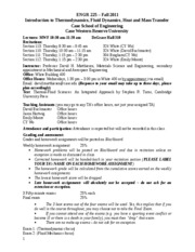 ENGR 225 Course Syllabus Fall 2011