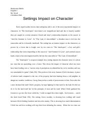 Literary Analysis Template - Mackenzie Behrle