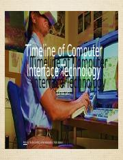 Timeline of Computer Interface Technology.pptx