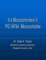 MicrocontrollerII