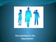 Individual in the organization