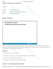 Module 5_ Reading and Writing Files