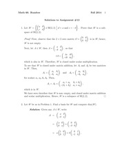 MATH 60 Fall 2014 Assignment 13 Solutions