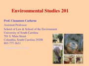 Env & Humans (Class 1) (BB)