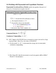 4.6_Modeling_with_Exponential_and_Logarithmic_Functions