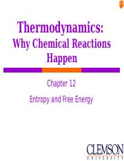 Chapter 12- Thermodynamics