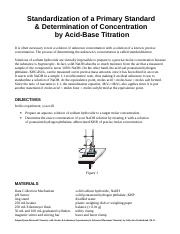 06 and 07 Standardization of NaOH and Acid Base Titration.doc