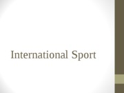 5+International+Sport+and+the+Olympics