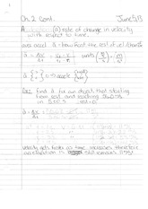 Phys 130 Class Notes- Acceleration
