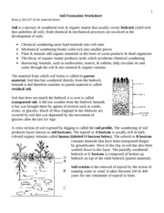 Printables Soil Conservation Worksheet soil conservation study resources 3 pages formation worksheet