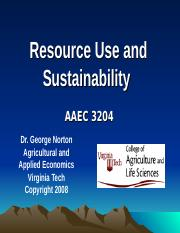 3204-9-Resource Use and Sustainability