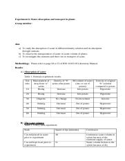 Biology of Organisms- LabReport 6.docx