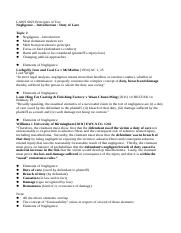 LAWS-6023-Tort-Law-Lecture-2.docx