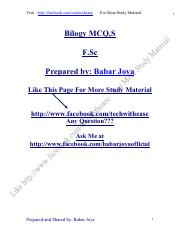 Biology intermediate mcqs .pdf