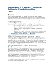 Mediation Memo - TO Mediator FROM Marshall Peterson Business Owner ...
