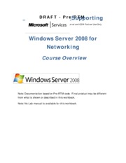 Server 20008 - Module_1_Course Overview