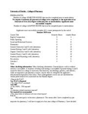 Long Island University Brooklyn Pharmacy Prerequisites