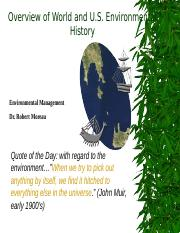 Overview of Environmental History.ppt