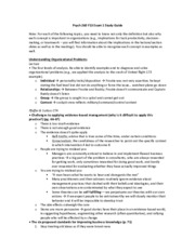 Psych 260 F13 Exam 1 Study Guide