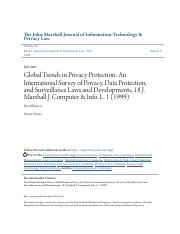 Global Trends in Privacy Protection- An International Survey of P.pdf