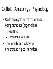 201 cell anatomy.ppt