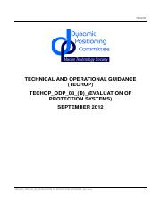 ODP 03 techop Evaluation of Protection Systems-2