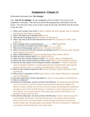 Assignment 4 - Chapter 12-Answers