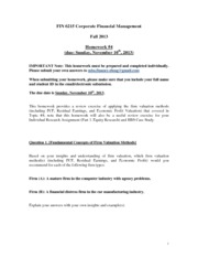 FIN_6215_(FALL 2013)_Problem_Set_and_Review_Exercises - Week #4