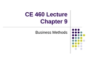 CE 460 Chapter 9