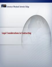 Legal Considerations Presentation- Week 1.ppt