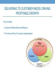 Delivering the Customer Needs - Profitable Growth - Class(1).pptx