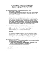 Hull_OFOD9e_MultipleChoice_Questions_and_Answers_Ch08