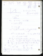 MA222 Notes on Complex numbers