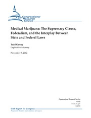 CRS -- marijuana and preemption