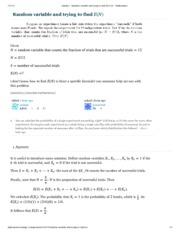 statistics - Random variable and trying to find $E(N)$ - Mathematics