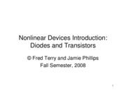13- Diodes and Transistors 1