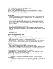 persuasive speech plan