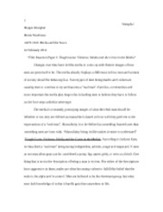 tough guise reaction paper essay Discussing tough guise with my grandmother essay tough guise i explained that the click the button above to view the complete essay, speech, term paper, or.